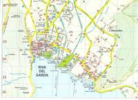 Map of Riva del Garda